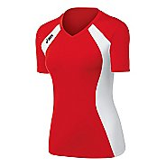 Womens ASICS Aggressor Jersey Short Sleeve Technical Tops