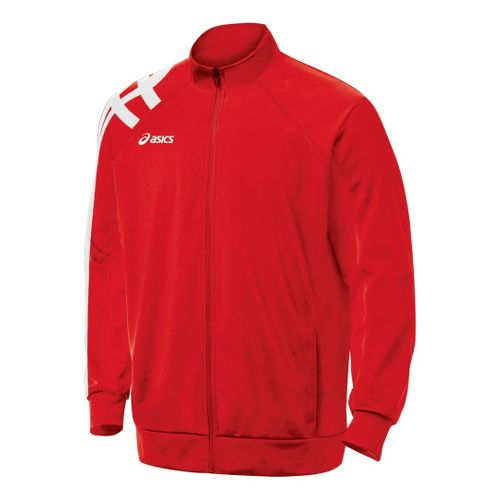 ASICS Team Tiger Running Jackets - Red XL