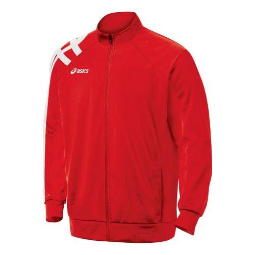 ASICS Team Tiger Running Jackets - Red XXL