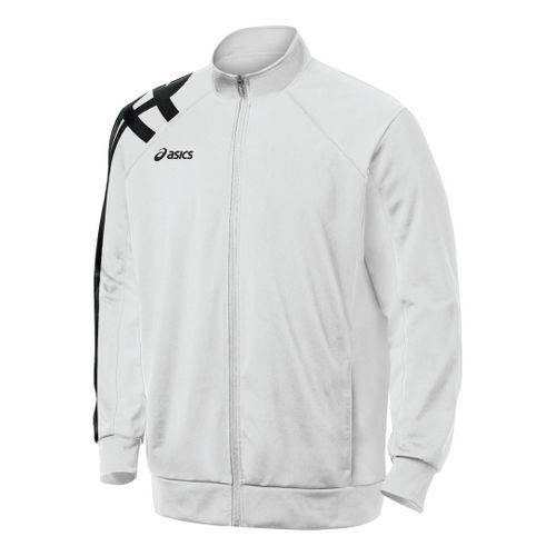 ASICS Team Tiger Running Jackets - White XS