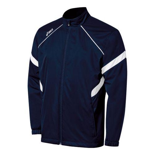 Kids ASICS Jr. Surge Warm-Up Running Jackets - Navy/White XL