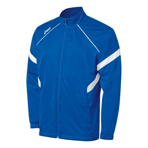 Kids ASICS Jr. Surge Warm-Up Running Jackets - Royal/White S