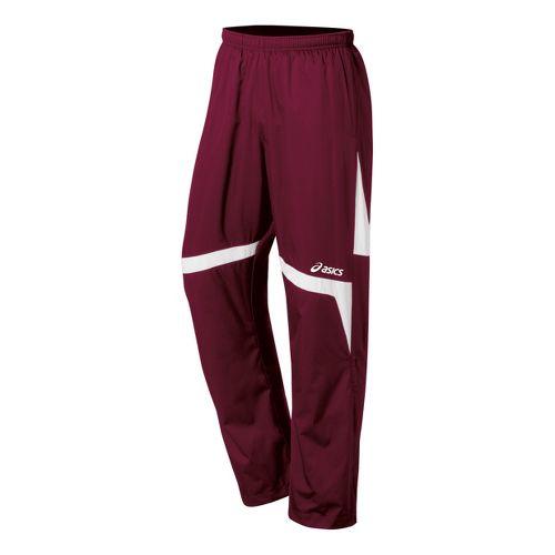 Kids ASICS Jr. Surge Warm-Up Pants - Cardinals/White XL