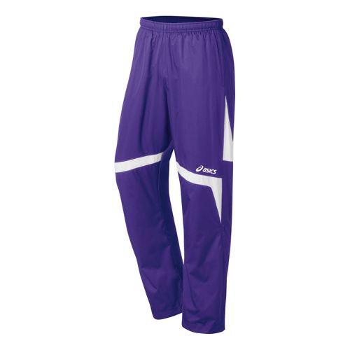 Kids ASICS Jr. Surge Warm-Up Pants - Purple/White L