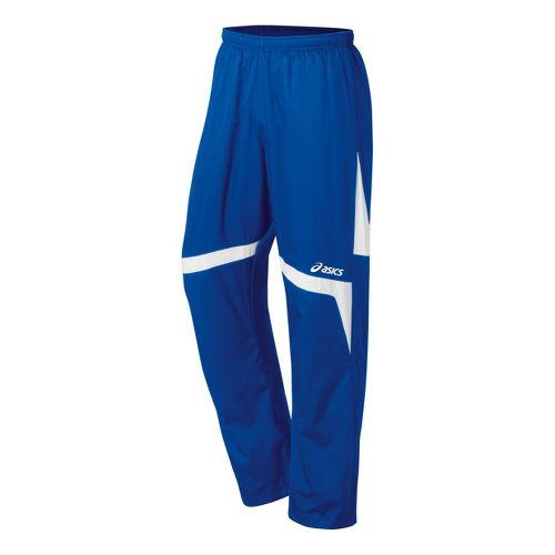 ASICS Boys Jr. Surge Warm-Up Pants - Royal/White XL