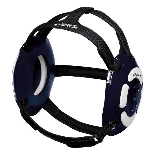 ASICS Aggressor Earguard Safety - Navy/White