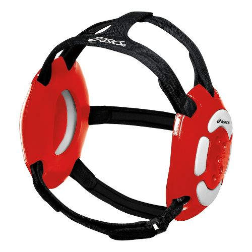 ASICS Aggressor Earguard Safety - Red/White