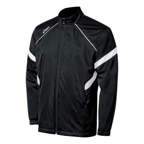 ASICS Surge Warm-Up Running Jackets - Black/White XS