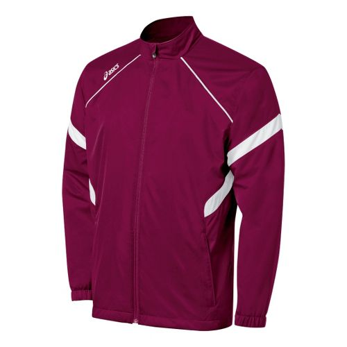 ASICS Surge Warm-Up Running Jackets - Cardinals/White S