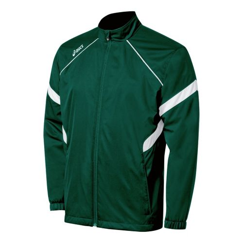 ASICS Surge Warm-Up Running Jackets - Forest/White L