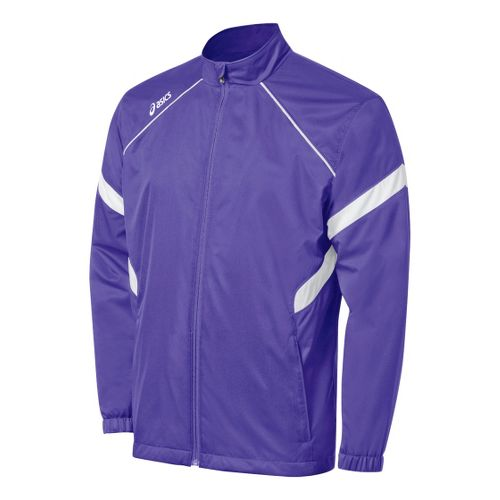 ASICS Surge Warm-Up Running Jackets - Purple/White L