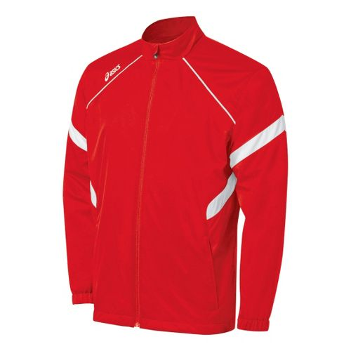 ASICS Surge Warm-Up Running Jackets - Red/White M