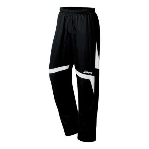 ASICS Surge Warm-Up Full Length Pants - Black/White M