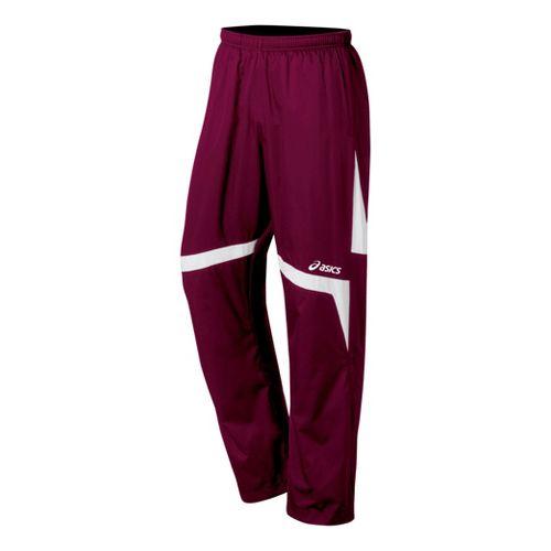 ASICS Surge Warm-Up Full Length Pants - Cardinals/White XXL