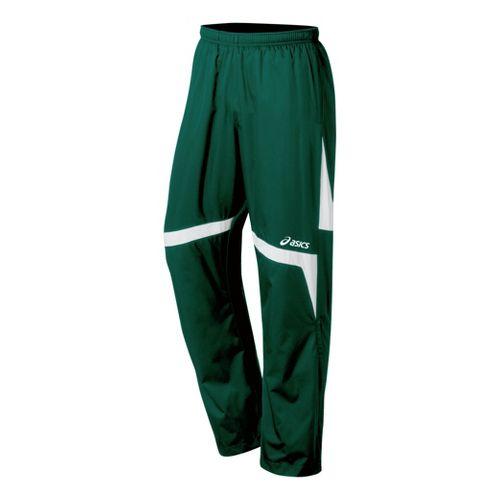 ASICS Surge Warm-Up Full Length Pants - Forest/White M