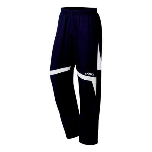 ASICS Surge Warm-Up Full Length Pants - Navy/White L