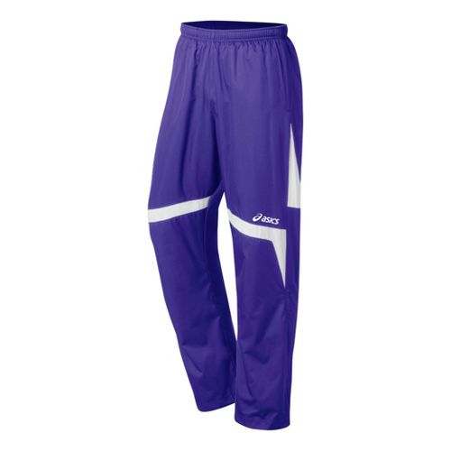 ASICS Surge Warm-Up Full Length Pants - Purple/White XS
