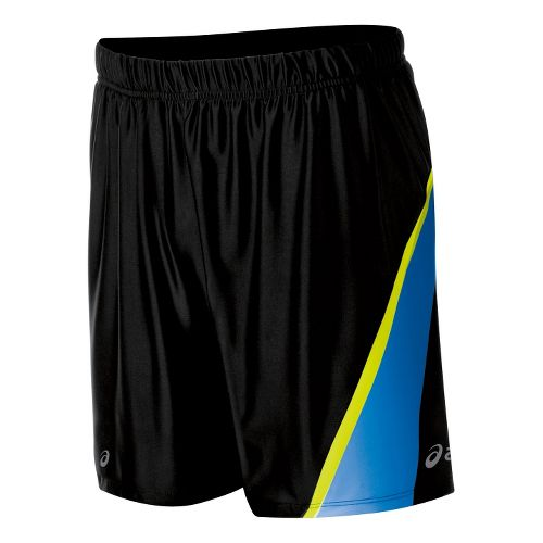 Mens ASICS Kayano Shorts - Black/WOW XL