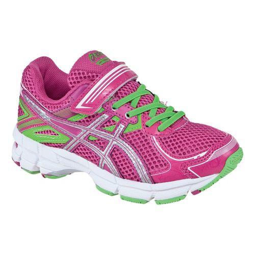 Kids ASICS GT-1000 2 PS Running Shoe - Hot Pink/Lightning 2