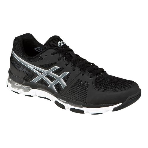 Mens ASICS GEL-Intensity 3 Cross Training Shoe - Black/Smoke 8