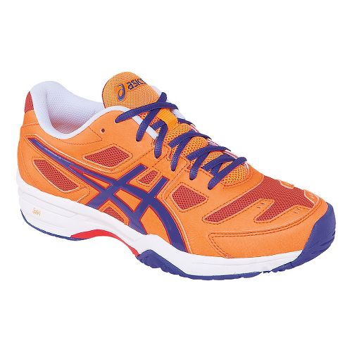 Womens ASICS GEL-Solution Slam 2 Court Shoe - Mango/Lavender 7.5