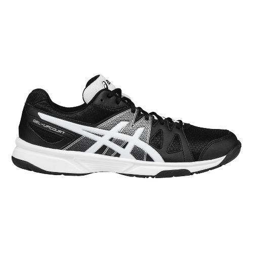 Mens ASICS GEL-Upcourt Court Shoe - Black/Silver 10.5