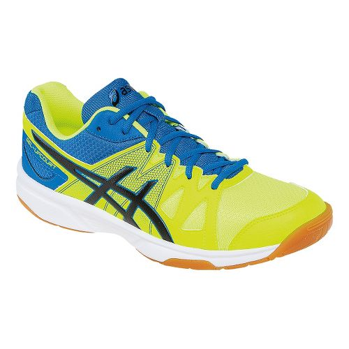Mens ASICS GEL-Upcourt Court Shoe - Flash Yellow/Black 11