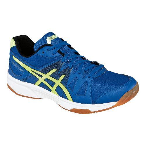 Mens ASICS GEL-Upcourt Court Shoe - Blue/Flash Yellow 6