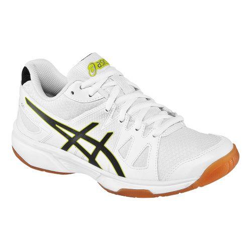 Mens ASICS GEL-Upcourt Court Shoe - White/Black 12