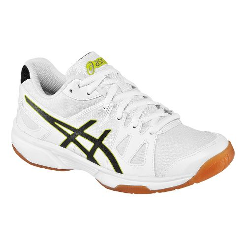 Mens ASICS GEL-Upcourt Court Shoe - White/Black 7