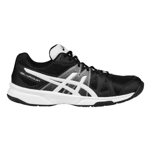 Womens ASICS GEL-Upcourt Court Shoe - Black/White 10.5