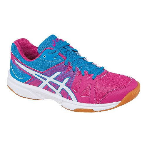Womens ASICS GEL-Upcourt Court Shoe - Cabernet/White 7