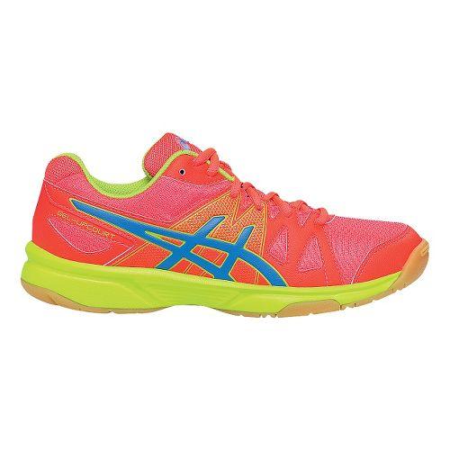 Womens ASICS GEL-Upcourt Court Shoe - Pink/Blue 6.5