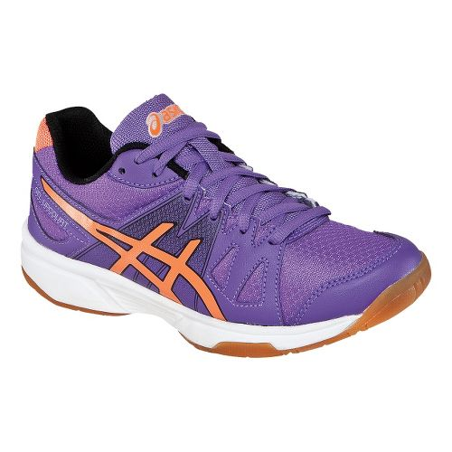 Womens ASICS GEL-Upcourt Court Shoe - Violet/Orange 7.5