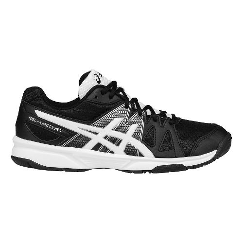 ASICS Kids GEL-Upcourt Court Shoe - Black/White/Silver 2.5