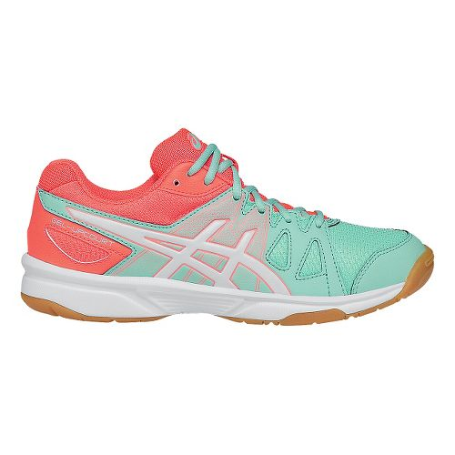 ASICS Kids GEL-Upcourt Court Shoe - Mint/White 5Y