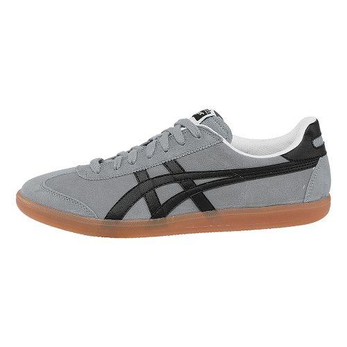 Mens ASICS Tokuten Track and Field Shoe - Light Grey/Black 11.5
