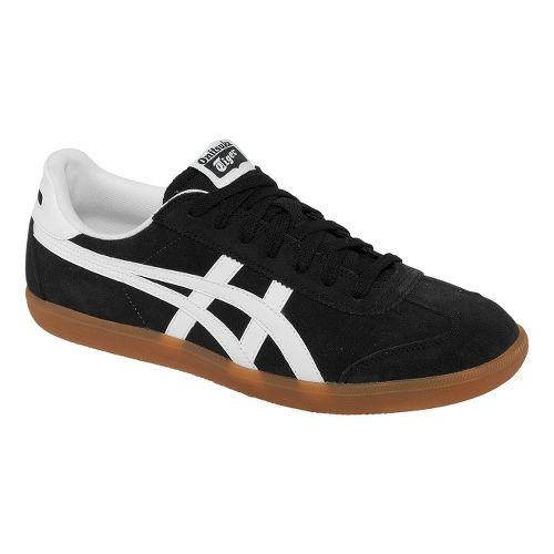 Mens ASICS Tokuten Track and Field Shoe - Black/White 11.5
