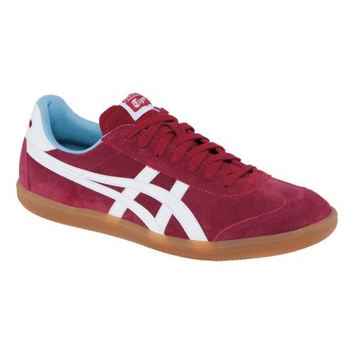 Mens ASICS Tokuten Track and Field Shoe - Burgundy/White 8.5
