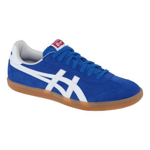 Mens ASICS Tokuten Track and Field Shoe - Dark Blue/White 8