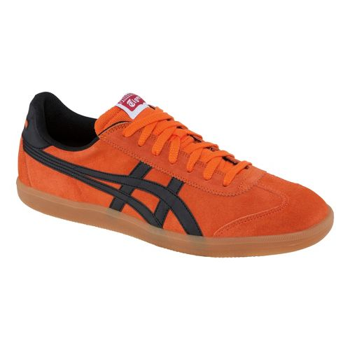 Mens ASICS Tokuten Track and Field Shoe - Orange/Black 6.5