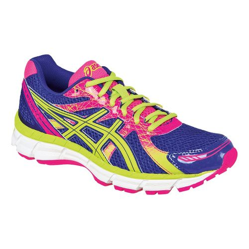Womens ASICS GEL-Excite 2 Running Shoe - Onyx/Diva Pink 8.5