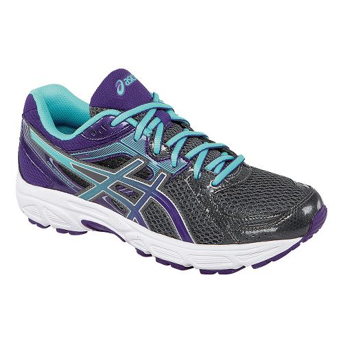 Womens ASICS GEL-Contend 2 Running Shoe - Charcoal/Purple 8.5