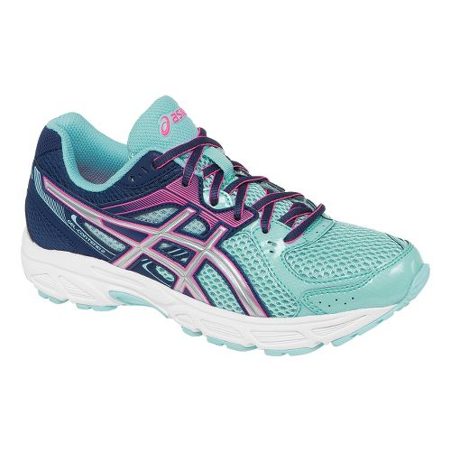 Womens ASICS GEL-Contend 2 Running Shoe - Ice Blue/Pink 10.5