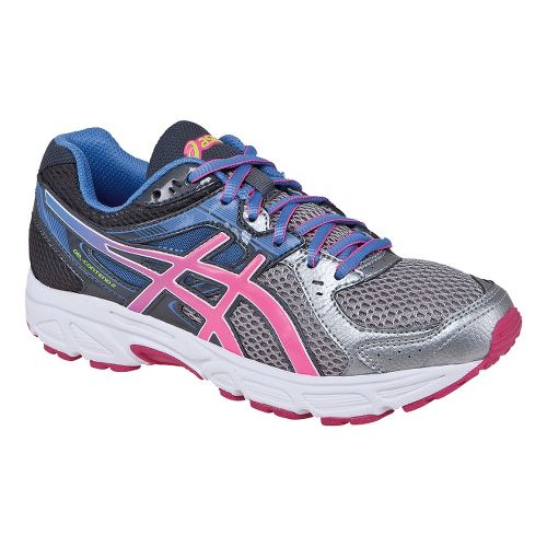 Womens ASICS GEL-Contend 2 Running Shoe - Charcoal/Purple 9.5
