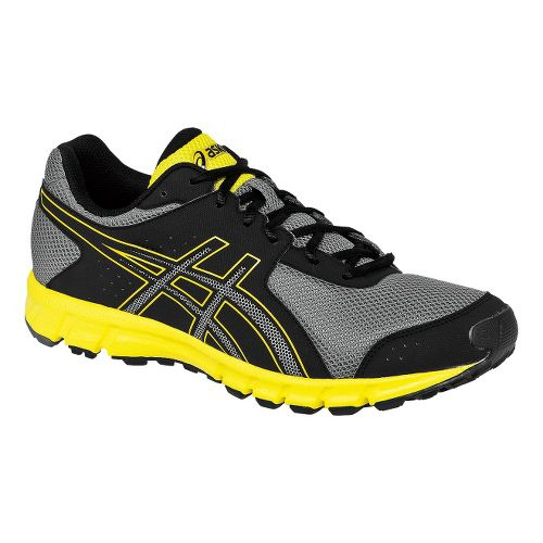 Mens ASICS Matchplay 2 Track and Field Shoe - Black/Sun 12