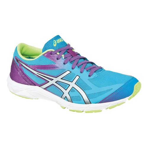 Womens ASICS GEL-Hyper Speed 6 Racing Shoe - Turquoise/Lightning 7.5