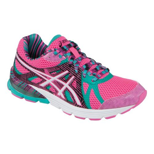 Womens ASICS GEL-Preleus Running Shoe - Hot Pink/Emerald 10.5