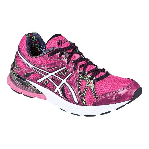 Womens ASICS GEL-Preleus Running Shoe - Hot Pink/White 11.5