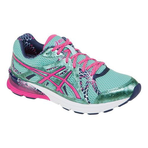 Womens ASICS GEL-Preleus Running Shoe - Ice Blue/Hot Pink 13